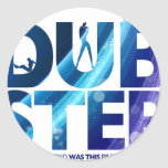 Dubstep I Wish My Girlfriend Was This Dirty Round Stickers
