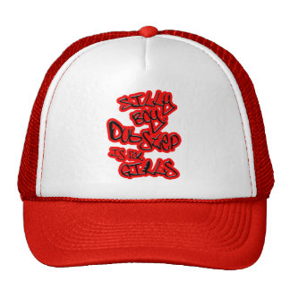 Dubstep is for girls gals ladies womens Dubstep Trucker Hat