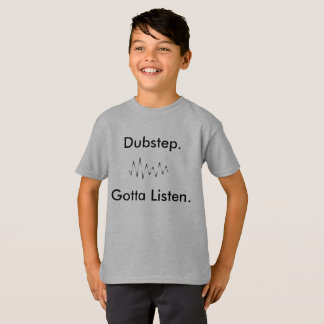 Dubstep Kids Funny School Aparrel Shirt