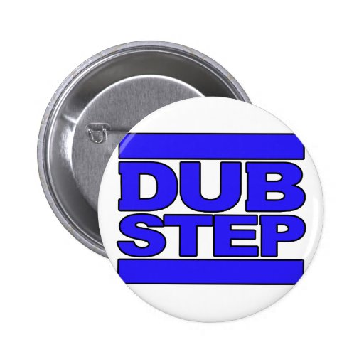 DUBSTEP Logo blue 2 Inch Round Button