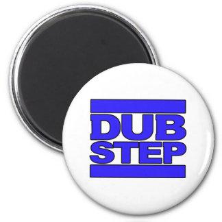 DUBSTEP Logo blue 2 Inch Round Magnet