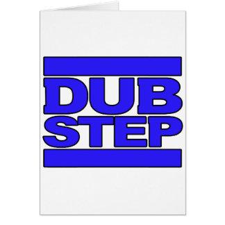 DUBSTEP Logo blue Card