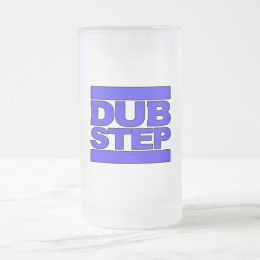 DUBSTEP Logo blue Coffee Mugs
