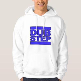 DUBSTEP Logo blue Hoodie