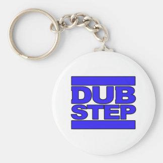 DUBSTEP Logo blue Keychain