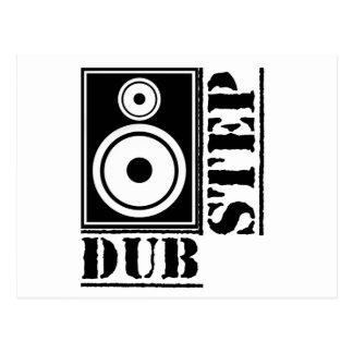 Dubstep Loudspeaker B Post Card