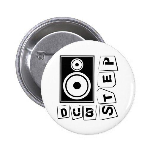Dubstep Loudspeaker Pinback Buttons