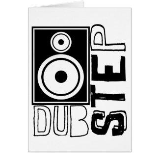 Dubstep Loudspeaker C Greeting Card