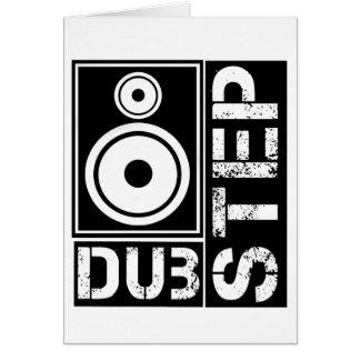 Dubstep Loudspeaker D Greeting Cards
