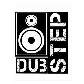 Dubstep Loudspeaker D Post Card