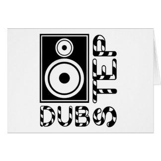 Dubstep Loudspeaker E Greeting Cards