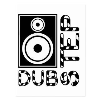 Dubstep Loudspeaker E Post Cards