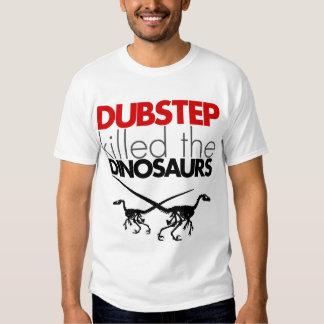 Dubstep mató a los dinosaurios 3 polera