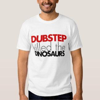 Dubstep mató a los dinosaurios (ningún bajo) playera
