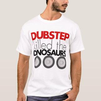 Dubstep mató a los dinosaurios playera