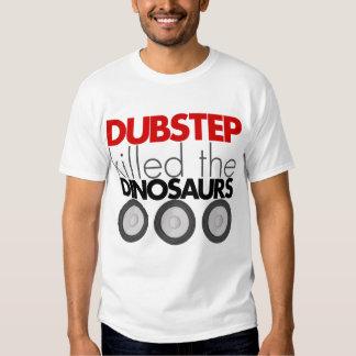 Dubstep mató a los dinosaurios playeras