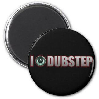 DUBSTEP MUSIC 2 INCH ROUND MAGNET