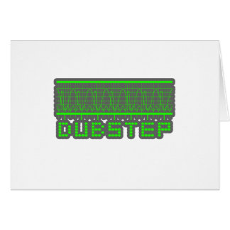 DUBSTEP music Greeting Card