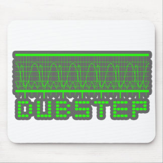 DUBSTEP music Mouse Pads