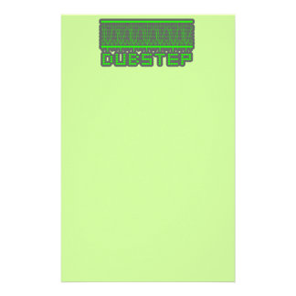DUBSTEP music Stationery