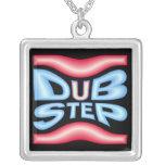 DUBSTEP Neon Warp Custom Necklace