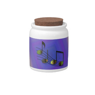 Dubstep Notes Candy Jar