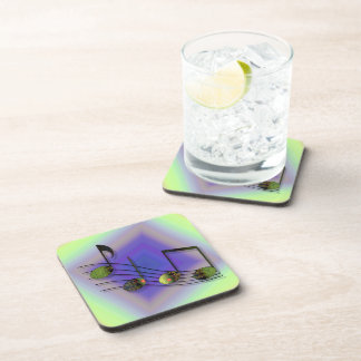 Dubstep Notes Square Coaster