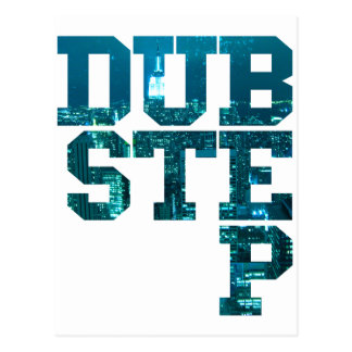 Dubstep NYC Postcard