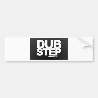 Dubstep Pure Car Bumper Sticker