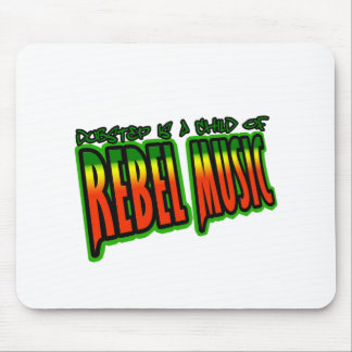 Dubstep Rebel Music Mouse Pads