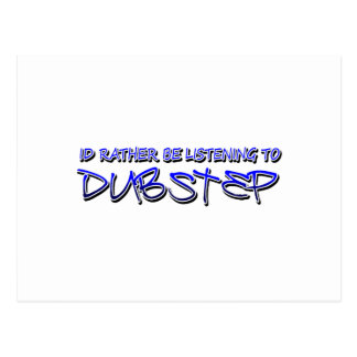 Dubstep remix- Dubstep music-download dubstep Postcard