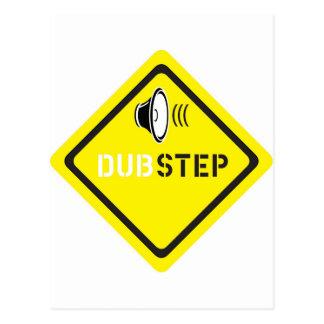 Dubstep sound design postcard