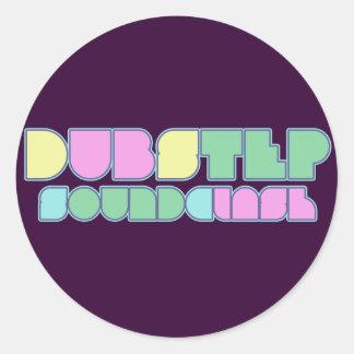 Dubstep Soundclash Pegatina Redonda