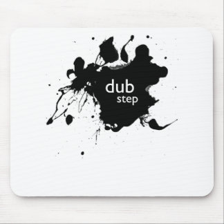 Dubstep Spatter Mouse Pad