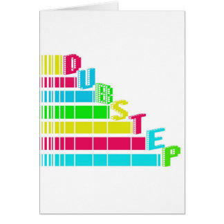 Dubstep Stair Greeting Card