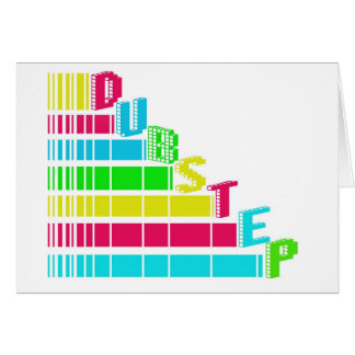 Dubstep Stair Greeting Cards