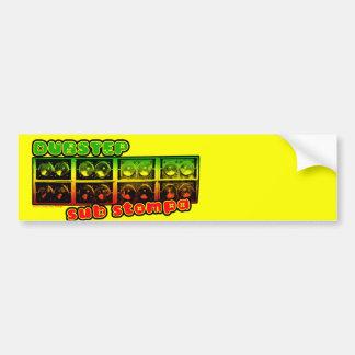 DUBSTEP sub stompa Bumper Sticker