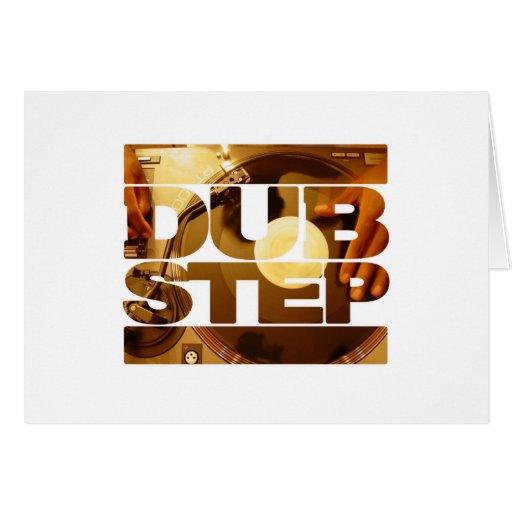 DUBSTEP vinyl dubplates music dub step download Greeting Card