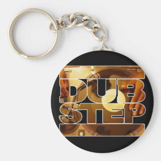 DUBSTEP vinyl dubplates music dub step download Keychain