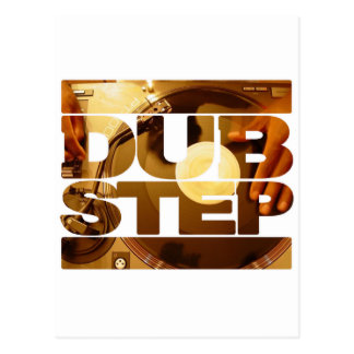 DUBSTEP vinyl dubplates music dub step download Postcard