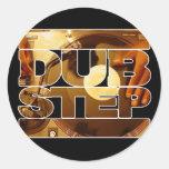 DUBSTEP vinyl dubplates music dub step download Sticker