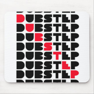 Dubstep WALL girls guys Dubstep music Mouse Pad