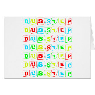 Dubstep Way Greeting Cards