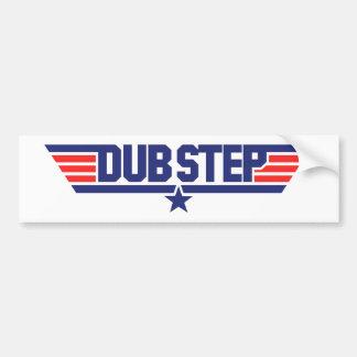 Dubstep (Wings & Star) Car Bumper Sticker