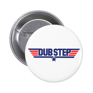 Dubstep (Wings & Star) Pinback Button