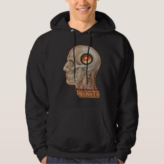 Dubstep woofer brain hoodie