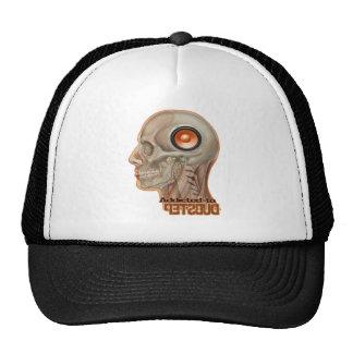 Dubstep woofer brain trucker hat