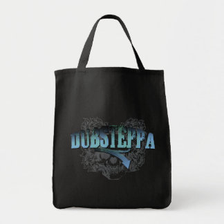 Dubsteppa Skull Grocery Tote Bag