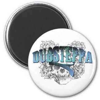 Dubsteppa Skull 2 Inch Round Magnet