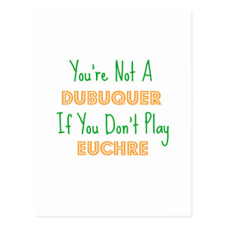 Dubuque, Iowa Euchre Card Game Products